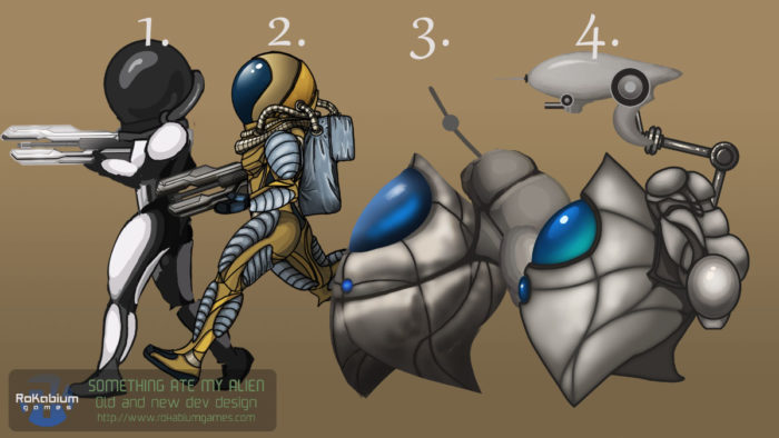Alien evolution SAMA