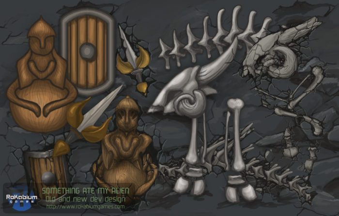 Resources - artefacts and fossils