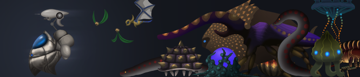 Something Ate My Alien - Meet The Enemies