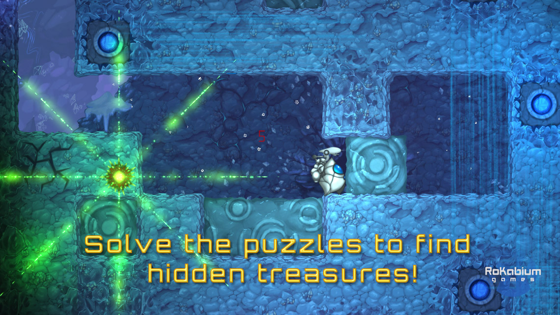Solve the puzzles to find hidden treasures!