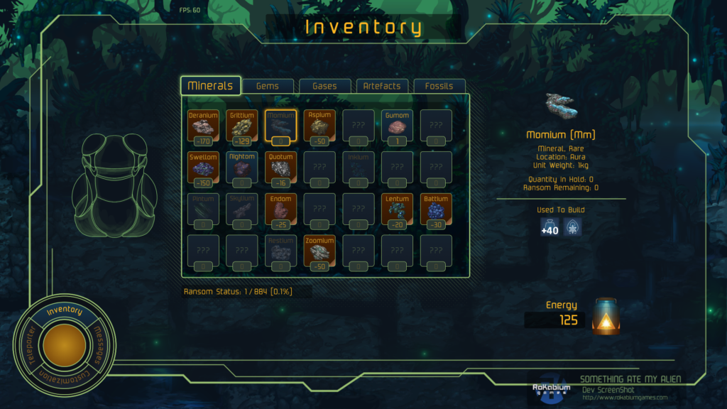 Alpha:Inventory Changes